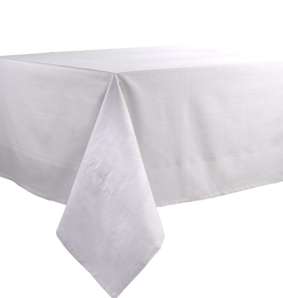 VILLA WHITE TABLECLOTHS