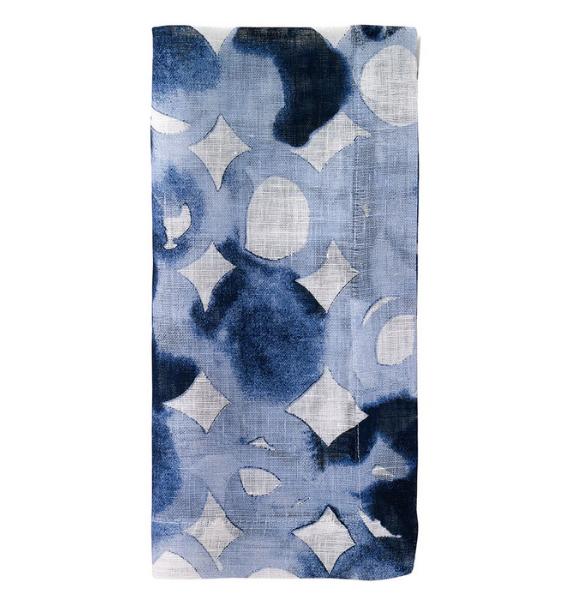 WATERMARK BLUE NAPKIN