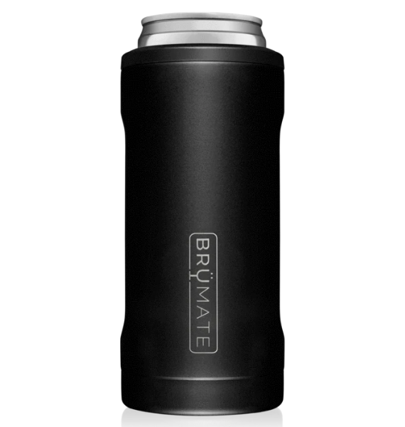HSB SLIM INSULATED CAN COOLER MATTE BLACK