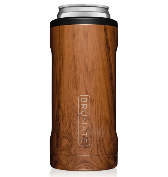 HSWD SLIM INSLATED CAN COOLER WALNUT