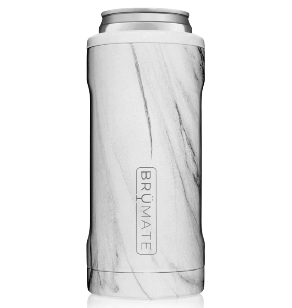 HSWM SLIM INSULATED CAN COOLER CARRARA