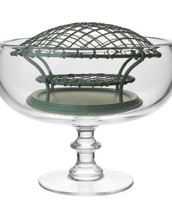 classic stemmed rose bowl