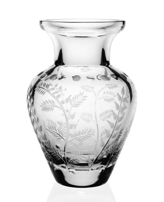 fern bouquet vase inch white bg