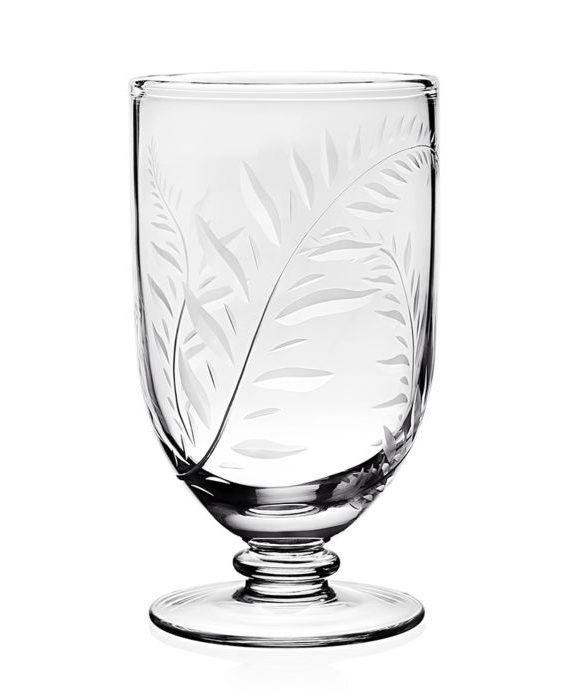 jasmine footed vase inch w