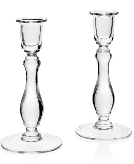 meryl pair of candlesticks inch