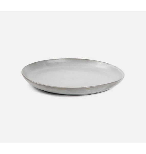 MARCUS CEMENT GLAZED DINNER PLATE