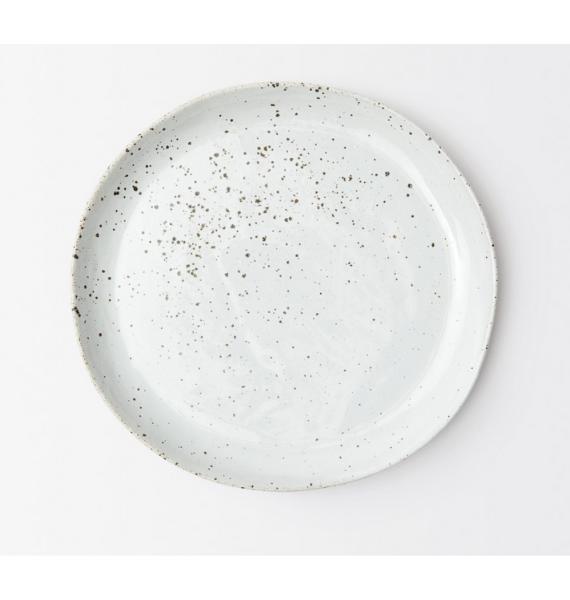 MARCUS WHITE SALT DINNER PLATE
