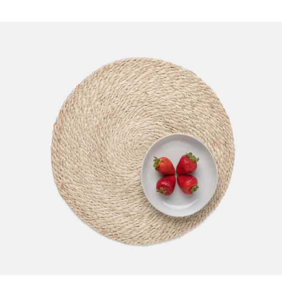 WHITELY ROUND PLACEMAT