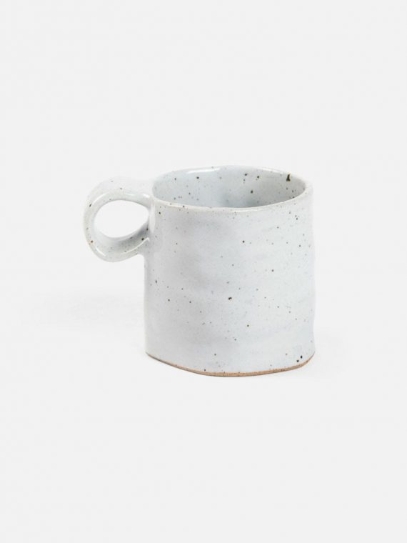bluepheasant lucas whitesaltglaze mug