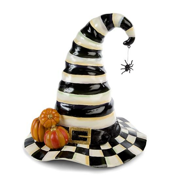 COURTLY CHECK WITCH HAT