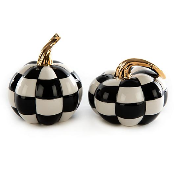 MOD PUMPKIN SALT PEPPER SET