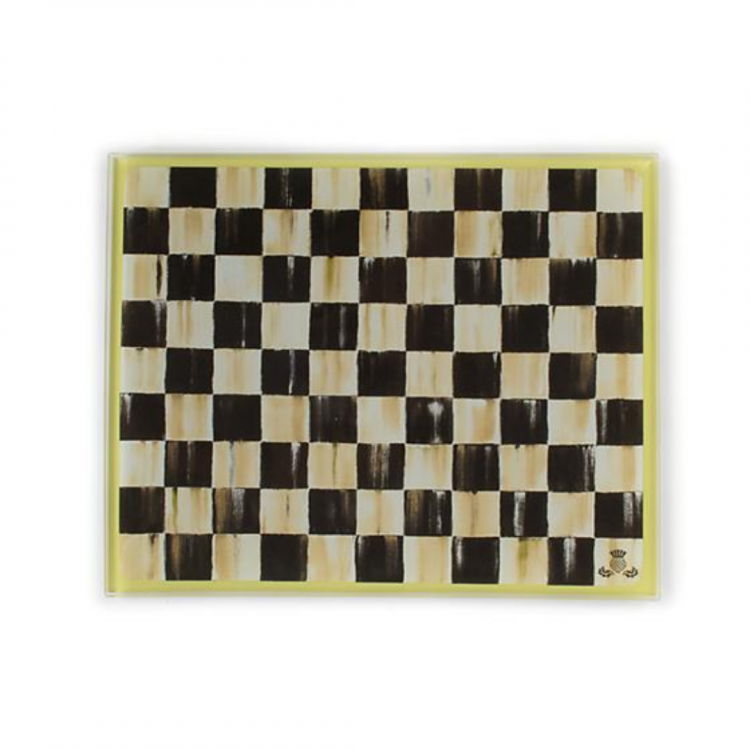 COURTLY CHECK CUTTING BOARD SM