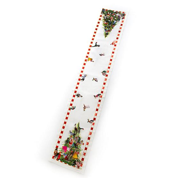 ANIMAL FETE TABLE RUNNER