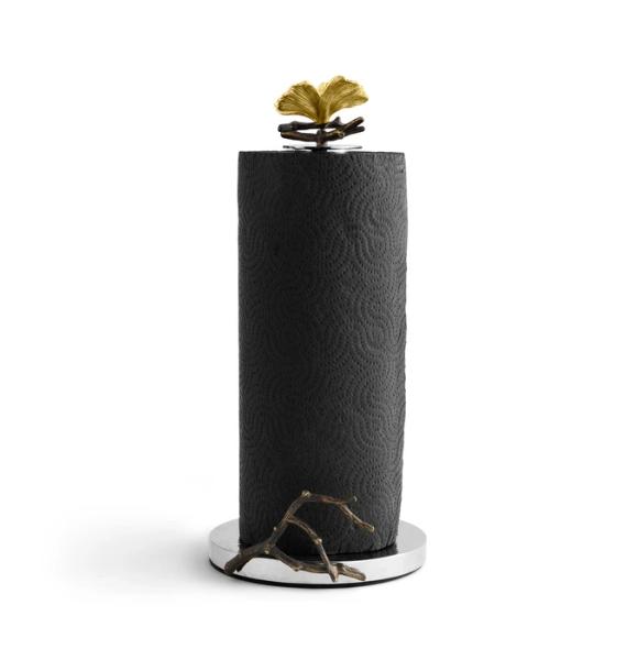Michael Aram Butterfly Ginkgo paper towel holder