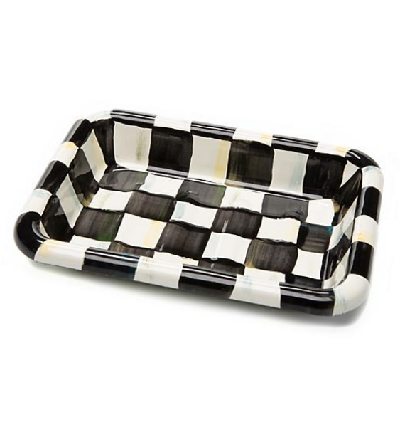 COURTLY CHECK SIMPLY SOAP DISH