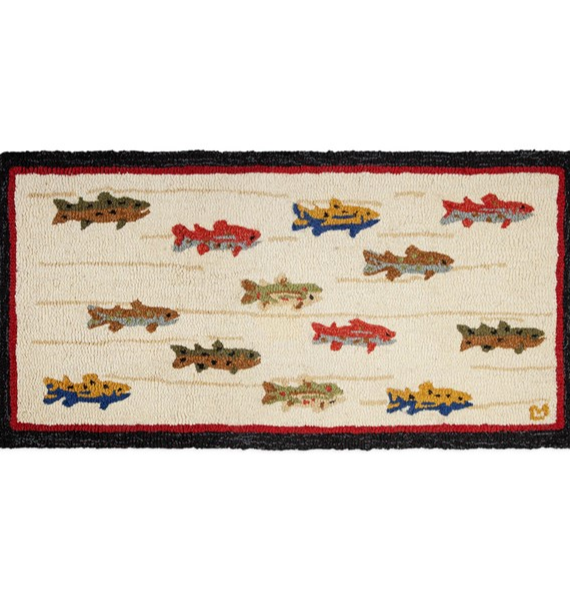 SUMMERTROUT SUMMER TROUT RUG