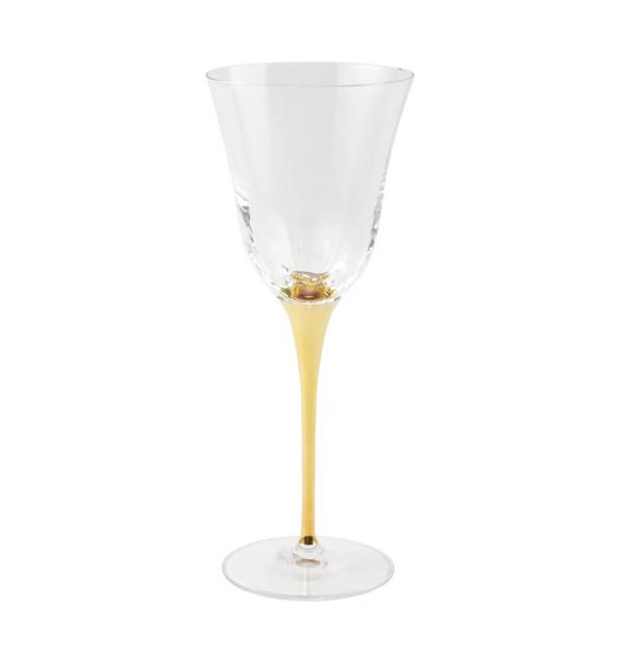 OGS GOLD STEMMED WATER GLASS