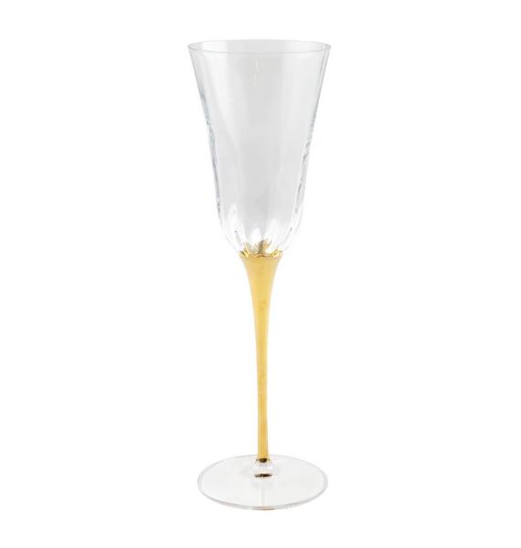 OGS GOLD STEMMED CHAMPAGNE GLASS